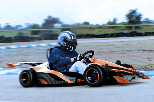 Slick And Sdy Gk2g Electric Go Kart Folds In Half