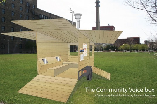Community Voice Box, Chicago, Eco, Trailer, Pilsen, green, neighborhood, research, concept, advocacy