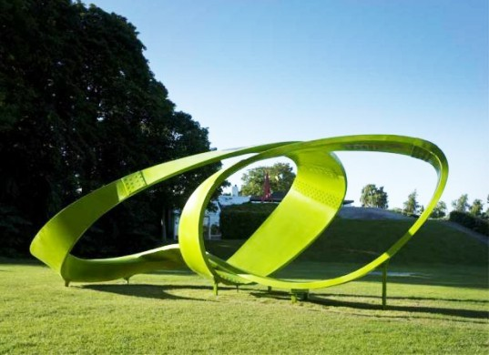 eco-design, sustainable design, green design, piezoelectricity, public art, land art generator, 3XN, pavilion, phase changing, flexible solar cells, biodegradable, LED, self-cleaning, Louisiana Museum of Modern Art