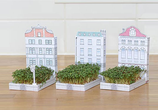 matchcarden, another studio, paper garden, city street garden, match carden, urban gardening, gardening, green products, green design, eco design, sustainable design