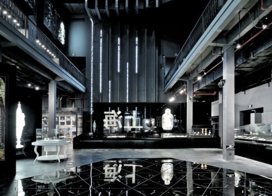 Shangai museum of glass, logon, coordination asia, glass manufacturing, baoshan district, sustainable reuse, DIY, green design, eco-design, art, sculpture, research and development, LED backlighting