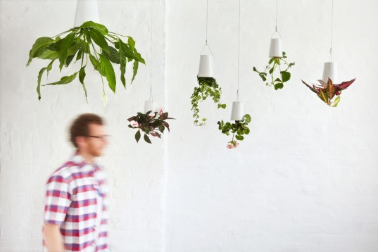 Boskke sky planter, hanging gardens, hanging plants, suspended planters, kew garden planters, red dot awards 2011, sky planters kew gardens, hanging planters, recycled planters, recycled garden pots, hanging recycled pots