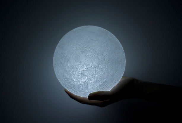 Hands Lunar Your Lamp In Light Nosigner's Of Moon Led Places The YmgIbyvf76