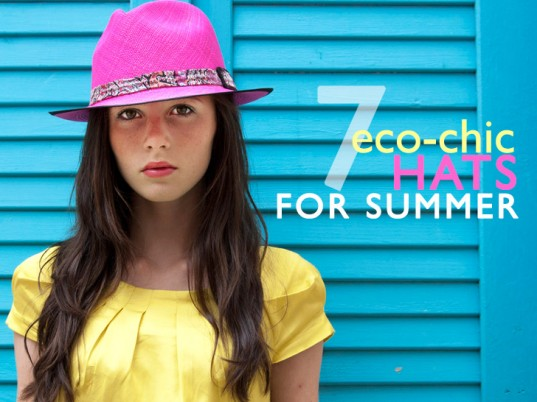 eco friendly hats, summer h