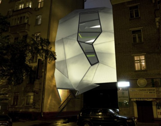 ARCH Moscow architectural biennale, Moscow, Russia, Za Bor Architects, Parasite Building, Repurposed Space, innovative office building