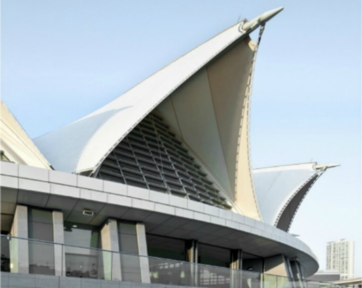 Seashell Shaped Tung Chung Swimming Pool Is Wrapped In An