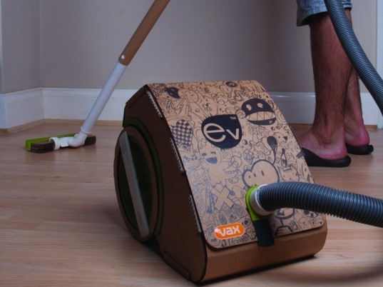 cardboard vacuum, durable vacuum, eco friendly vacuum, sustainable vacuum, sustainable cleaning products, green cleaning, eco friendly cleaning, cleaning products, recycled vacuum, green vacuum