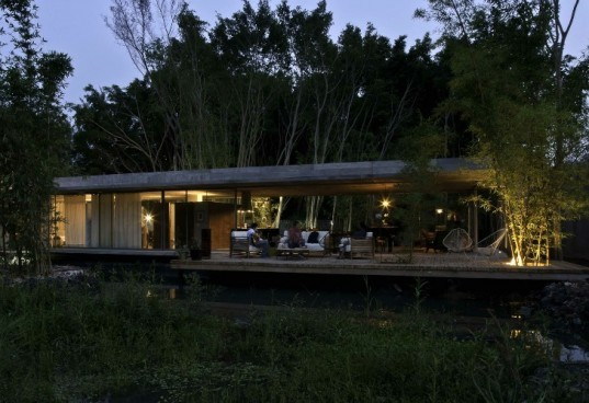 Casa La Semilla, t3arc, mexico, the seed, glass house, daylighting, natural ventilation