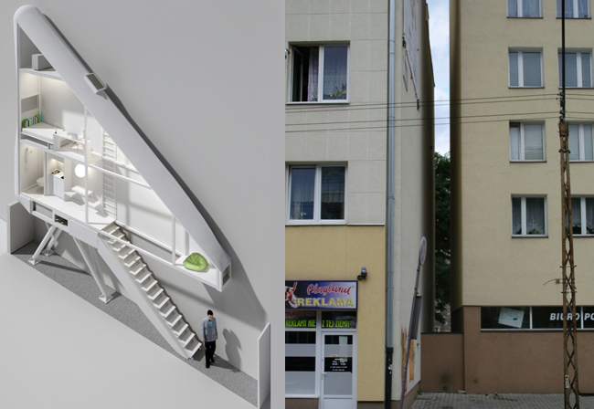 Keret House Warsaw S Narrowest Home Will Be Set Within