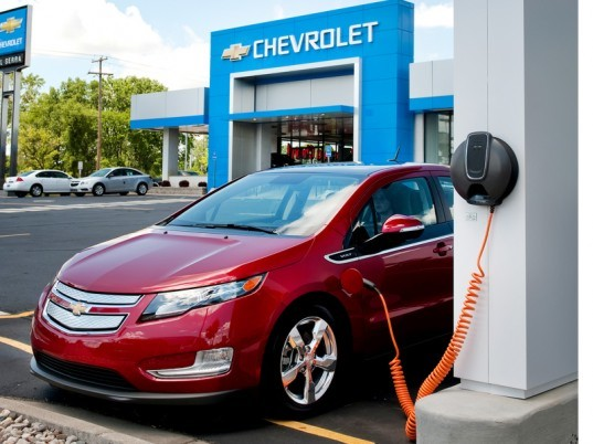 Chevy Volt Chevrolet Ev Electric Vehicle