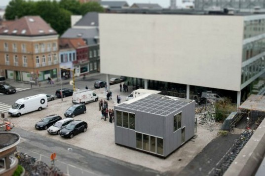 E-Cube, Ghent University, Solar Decathlon, solar home, prefab, passive house, 2011 solar decathlon