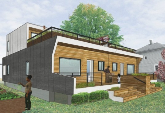 Empowerhouse, DC, The New School, parsons, solar decathlon, prefab home, passive house