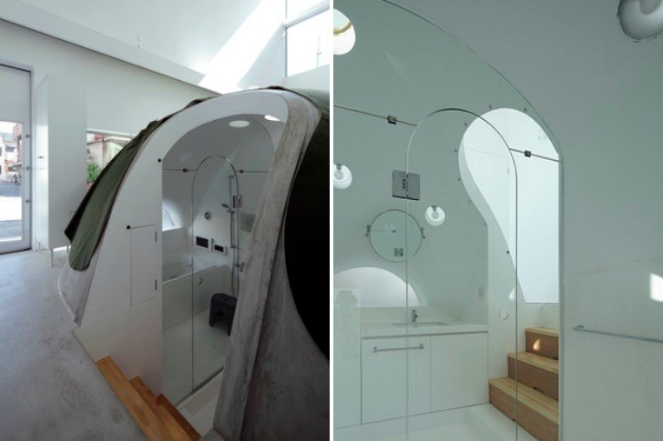 Crazy Japanese House Features Solar Heated Bathroom Bunker ... on lean to house designs, bunker layout designs, salem house designs, bunk house designs, steel house designs, bunker homes designs, modern house plans and designs, bunker building designs, grotto house designs, united states house designs, anderson house designs, wiccan house designs, charleston house designs, harris house designs,