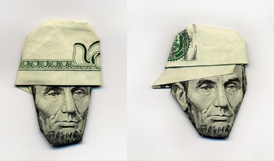 money issues, green design, eco design, sustainable design, origami, moneygami, Hasegawa Yosuka, currency, banknotes, money portraits