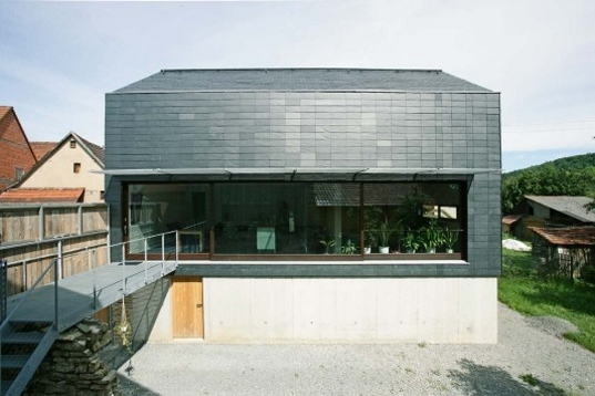 Haus Köhle: Modern Passive Solar Farmhouse is Wrapped in a Shining ...