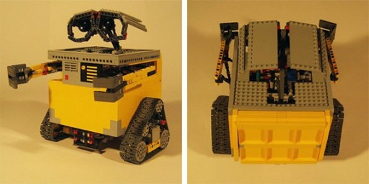 Real Life Wall E Is Recreated With Lego Mindstorms And Motors