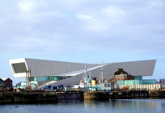 museum of liverpool, liverpool, eco museum, trigeneration, chp, 3xn, uk