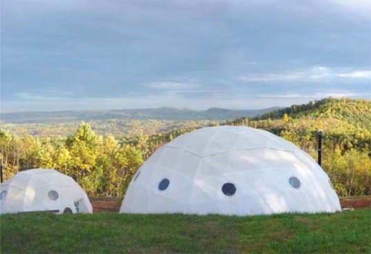 Self sustaining bioenergy domes produce organic veggies for Self sustaining pool