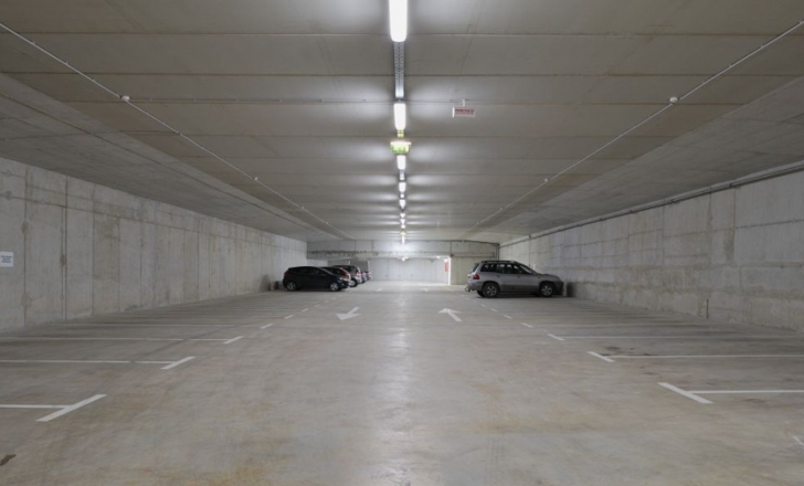 Spectacular Green Park Tops A Parking Garage In Slovenia