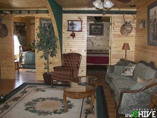 Redneck Shipping Container House, shipping containers, cargotecture, redneck house, composting toilet, solar power