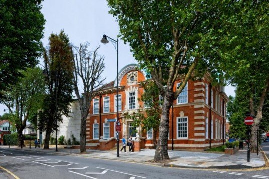 Sustainable Building,social design,Renewable Energy,London,Green renovation,Green Lighting,Daylighting,Architecture,Library,einfield library,breeam excellent rating,bat house,ice rink,edwardian style,geothermal energy,renewable resources