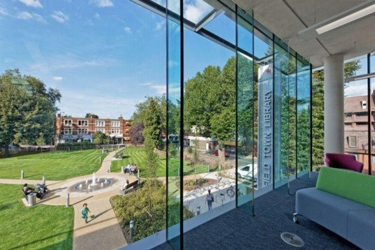 Eco Amp People Friendly Enfield S Town Library Wins Breeam