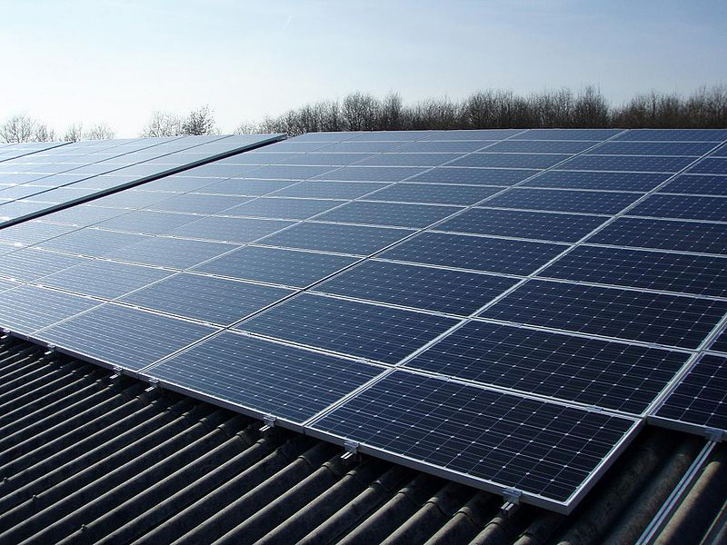 Building Solar Energy : Study discovers that solar panels have a cooling effect on