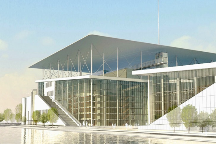 Renzo Piano Unveils Green Roofed Stavros Niarchos