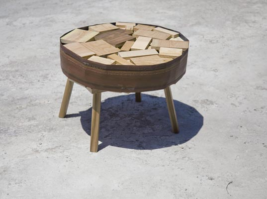 green furniture, eco design,green design,green products,mexican design,Recycled Materials, Le Porc-Shop, handcrafted wood furniture, Banca Familiar, Valentin Garal, Unknown Folk Object workshop