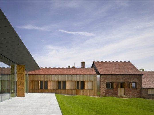 The Rothschild Archive, Windmill Hill Farm, Waddesdon Manor, stephen marshall architects, green renovation,