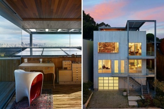 Xiao-Yen House, Craig Steely Architecture, San Francisco, victorian renovation, green renovation, solar power, green roof