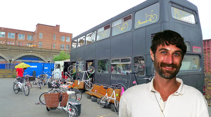 bus karta INTERVIEW: We Talk to Bicycle Library Founder Karta Healy  bus karta