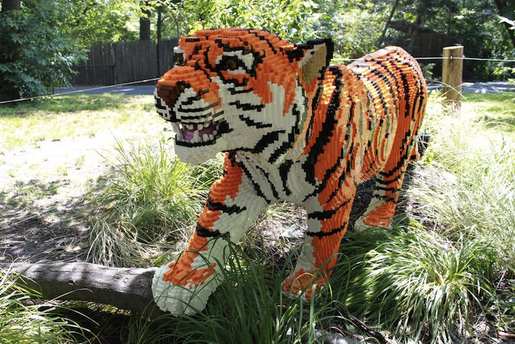 Lifelike Lego Animals Find A Home At The Bronx Zoo