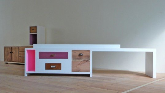 Design Direct Recycles 1 000 Discarded Drawers Into