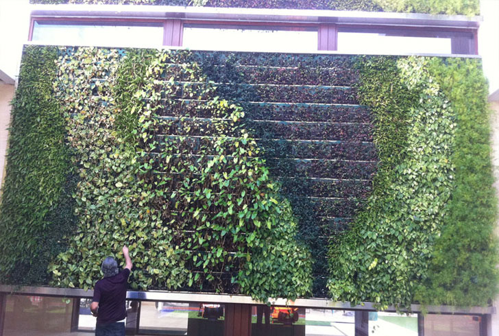 Add Color To Your Yard With Gskyu0027s Succulent Green Walls And Vertical  Gardens | Inhabitat   Green Design, Innovation, Architecture, Green Building