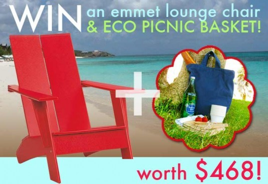giveaway, emmet lounge chair, branch picnic set, eco friendly chair, eco friendly picnic set, eco friendly outdoor furniture, eco chair, eco lounge chair, green chair, sustainable chair, sustainable picnic set, eco picnic, picnic kit, compostable picnic kit, eco picnic set, sustainable picnic, sustainable lounge chair, sustainable outdoor furniture, sustainable outdoor chair