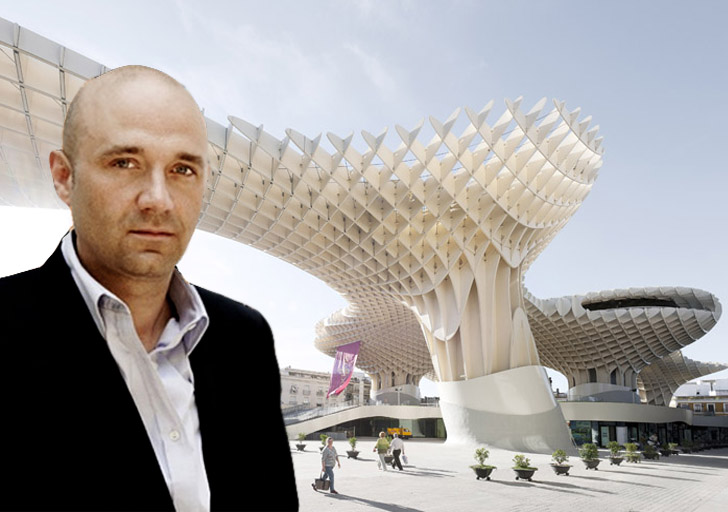 video inhabitat interviews metropol parasol architect juergen mayer h. Black Bedroom Furniture Sets. Home Design Ideas