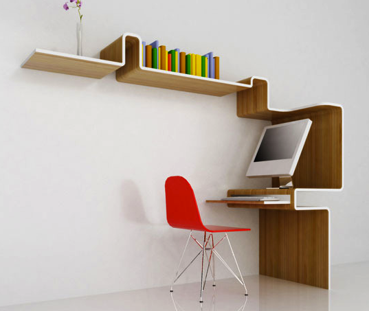 K Station, MisoSoupDesign, workstation, bamboo desk, bamboo shelves, green furniture, green office furniture, eco-friendly materials, sustainable materials, bamboo products