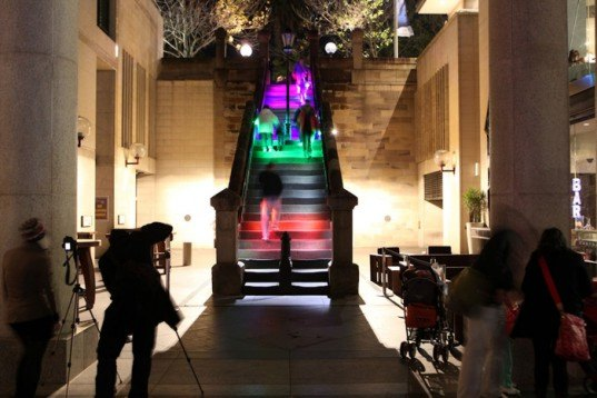meinhardt hopscotch, light installation, light art, vivid sydney, energy, energy conservation
