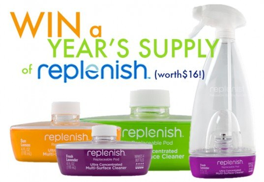 replenish, replenish cleaner, replenish pods, free replenish cleaner, try replenish cleaner, replenish multi purpose cleaner, replenish concentrate pods, reusable cleaners, non toxic cleaners, green cleaners, eco-friendly cleaners, giveaways, win this, free stuff, inhabitat giveaways, enter to win
