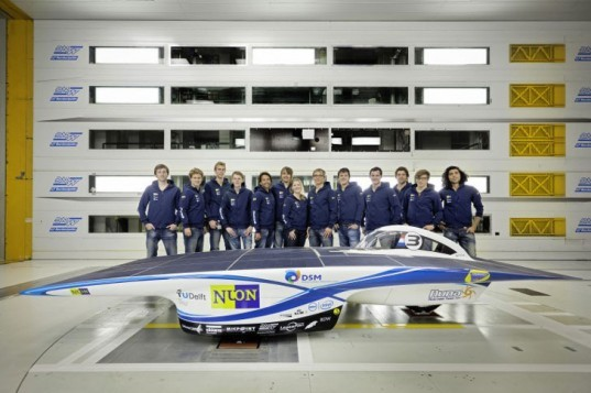 Nuon Solar Team, Nuna6 Solar Car, World Solar Challenge, solar car, green transportation, alternative transportation, green autotmotive design, renewable energy, solar power
