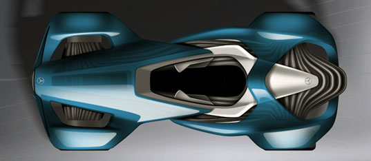 Marco Sweston, Touch Effect, concept car, concept car muscles, electric vehicle, electric car, green transportation, alternative transportation, green automotive design, green race car, track racer