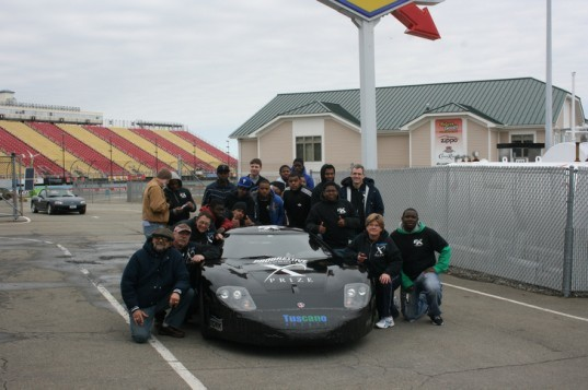Hybrid X Team, West Philly Hybrid X, high school MPG Rally champions, Watkins Glen, Green Grand Prix