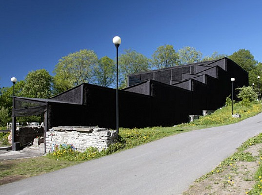 sustainable materials, sustainable building, green materials, Salto Architects, NO99, eco-design, sustainable design, green design, Estonia, culture, theater
