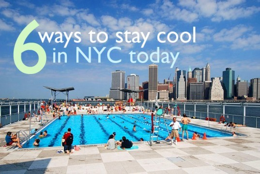 eco nyc, green NYC, homemade ice cream, homemade popsicles, nyc, nyc heat wave, nyc library, nyc movies, nyc museum, nyc pools, nyc sprinklers, nyc summer, sustainable n