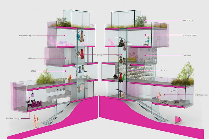 Architect Barbie S Winning Dream House Design Unveiled And It Has