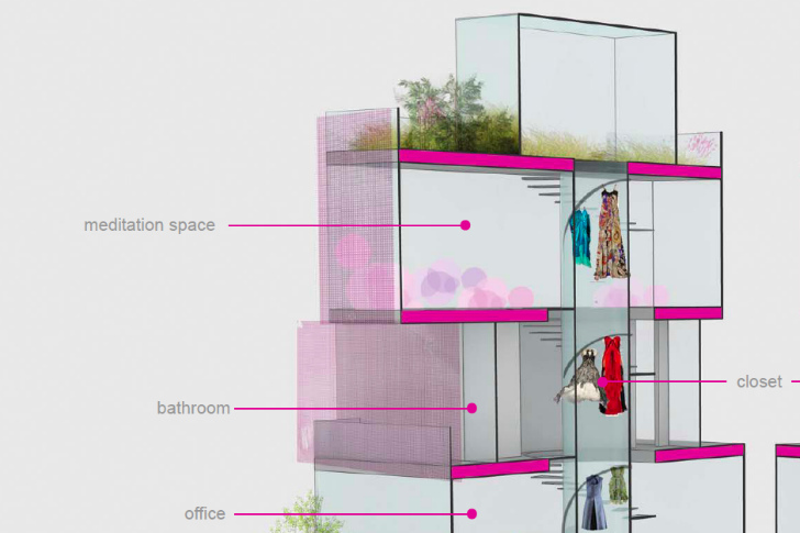 Architect Barbieu0027s Winning Dream House Design Unveiled   And It Has A Green  Roof!   Inhabitat   Green Design, Innovation, Architecture, Green Building