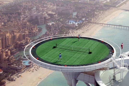 Burj al Khalifa, World's tallest building, burj al arab, dubai, world islands sinking, blue crystal, shipping containers, top 6, solar powered desert oasis, world's highest tennis court, eco-design, sustainable design, green design