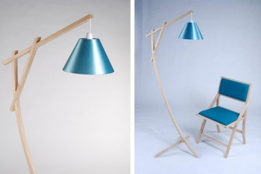 Zero energy,Recycling / Compost,London,Green Materials,Green Lighting,green furniture,green furniture,no glue no screw,new designers 2011,plymouth university,steam bending,lime wash,scrap wood,lamp