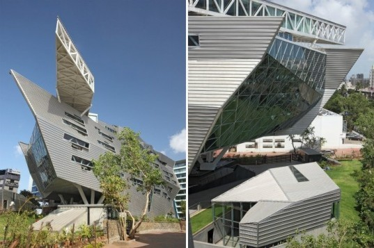 GMS Grande Palladium, Malik Architecture, mumbai, cantilever, eco office, holistic space,